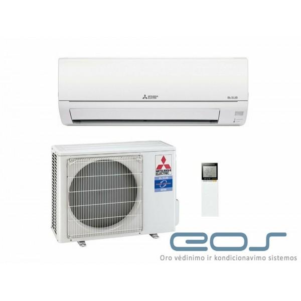 Mitsubishi Electric 3.4/3.6 kW oro kondicionierius - šilumos siurblys (MSZ-HR35VF+MUZ-HR35VF)