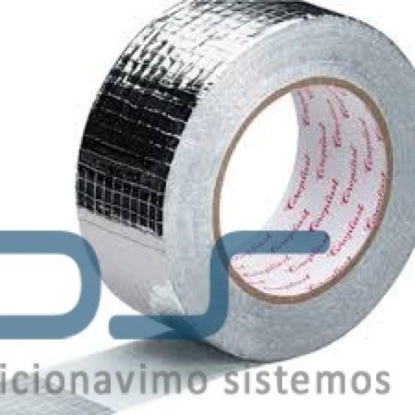 Lipni armuota aliuminio juosta 75 mm, 50 m