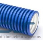 Lankstus ortakis su lygiu antistatiniu/antibakteriniu vidiniu paviršiumi Ø75/63, 50 m ritė su 2 aklėmis 1 rul. 110,00€