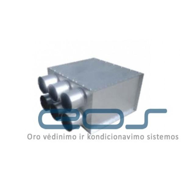 Metalinis paskirstymo kolektorius IPRPD Ø160/6xØ75 IzolV 1 vnt. 89.43€