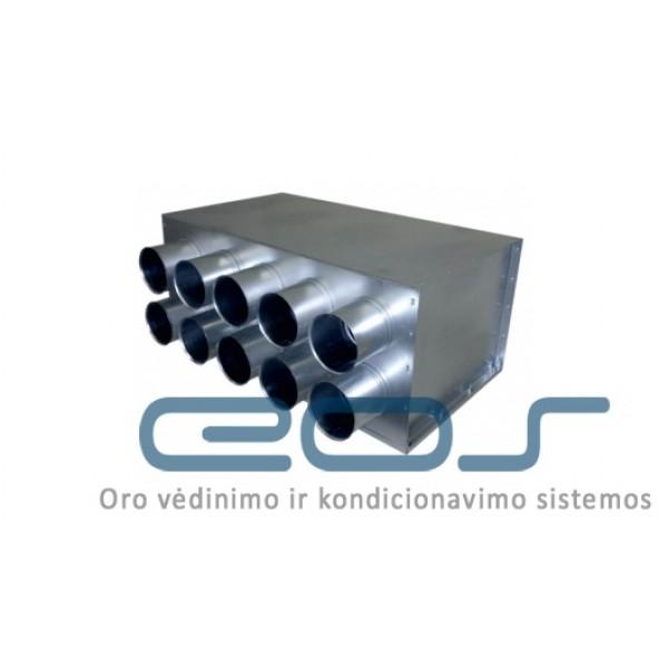 Metalinis paskirstymo kolektorius IPRPD Ø200/10xØ75 IzolV 1 vnt. 108.44€