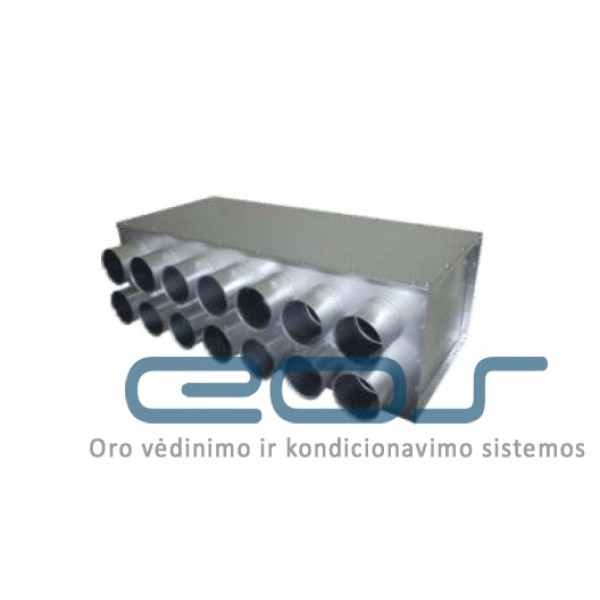 Metalinis paskirstymo kolektorius IPRPD Ø200/14xØ75 IzolV 1 vnt. 121.25€