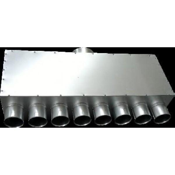 Metalinis paskirstymo kolektorius IPRPJ Ø125/8xØ75 IzolV 1 vnt. 122.33€