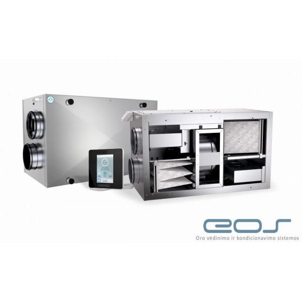Vėdinimo rotacinis rekuperatorius Energy Saving IPRS-150/B (su įmontuotu oro šildytuvu)